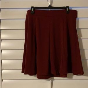 Old Navy Skirts - NWT Old Navy short knit maroon skirt